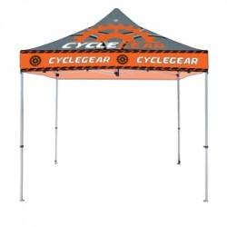 Tente événementielle 10''x10' avec impression en sublimation