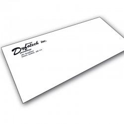 Enveloppes 1/0, 24 lbs blanc