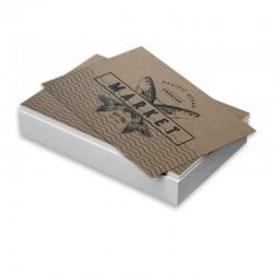 Cartes d'affaires Enviro Recyclé imprimées 1 côté