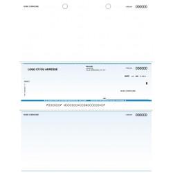 Chèques personnalisés pour imprimante laser - ACOMBA