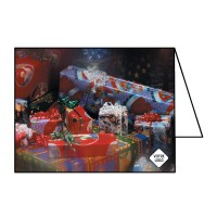 Cartes de Noël ouvert 7¼x10